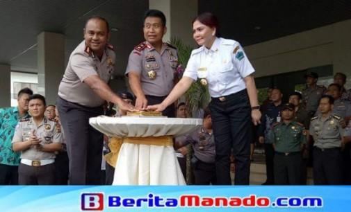 Launching SiReMiTa: Kapolres ALFARIS PATTIWAEL Dipuji Kapolda Sulut BAMBANG WASKITO