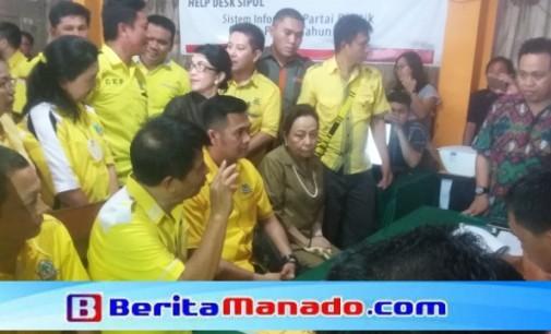 Daftar ke KPUD, JAMES KOJONGIAN: Partai Golkar Hadir Berada di Tengah Masyarakat