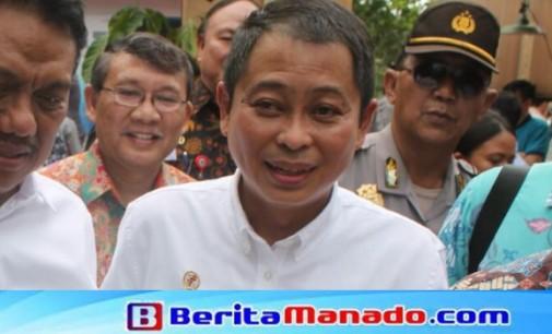 Datang ke Minut, Menteri JONAN Enggan Bahas MMP