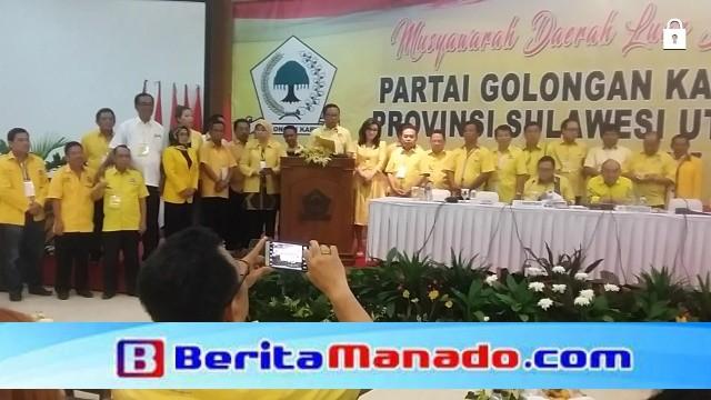 Pembacaan Pendapat Akhir Pimpinan DPD I dari 15 Kabupaten/Kota di Sulawesi Utara