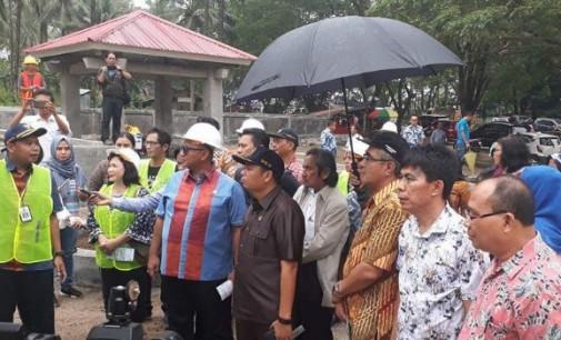 DPR RI Tinjau Pembangunan Waduk Kuwil dan Zero Point Minut