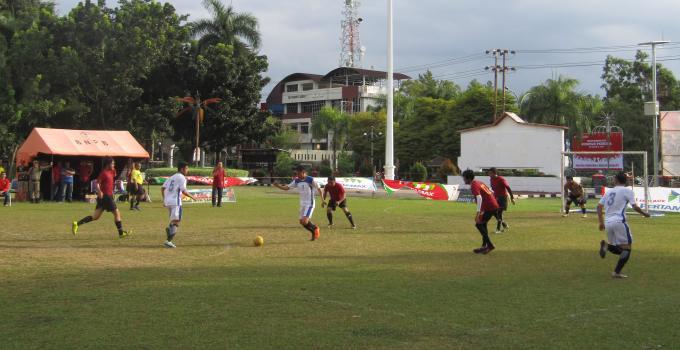 Turnamen Futsal Antar Wartawan Piala Gubernur