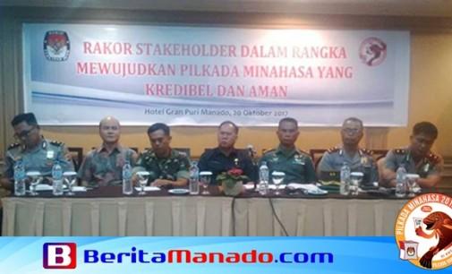 KPU Minahasa Gelar Rakor Pilkada Minahasa 2018