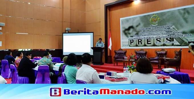 Kepala perwakilan BPK Sulut Tangga M Purba