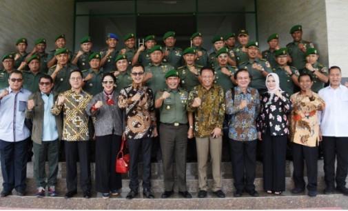Komisi I DPR RI Kunjungi Kodam XIII/Merdeka