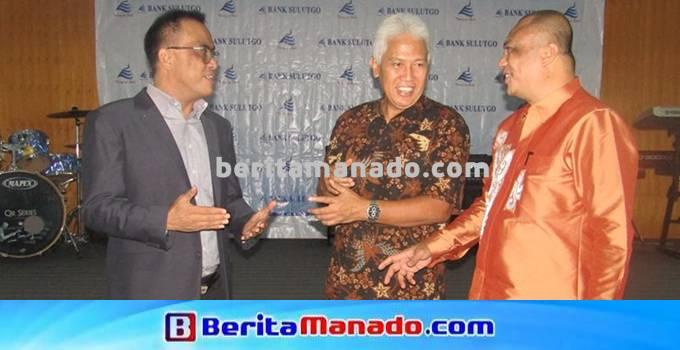 Meiki T. Taliwuna (Direktur Pemasaran) Jeffry A.M Dendeng (Direktur Utama) Machmud Turuis (Direktur Kepatutan)