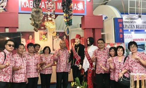Stand Minahasa Tarik Perhatian Pengunjung di Nusantara Expo 2017
