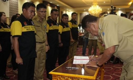 OLLY DONDOKAMBEY Lantik Ketua Persatuan Drum Band Indonesia Sulut