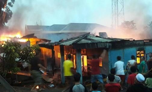 Sekretariat PSI Kotamobagu Nyaris Terbakar