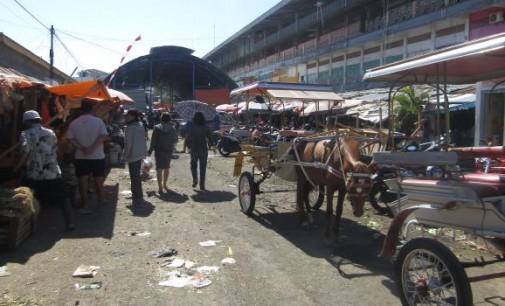 DINAS PUPR Rehabilitasi Total Pasar Pinasungkulan Karombasan