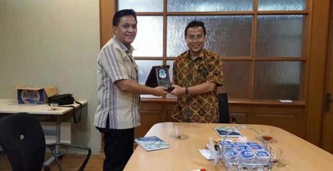 Kadis PUPR Kota Manado, Peter Assa, di Kementerian ATR/BPN