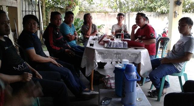 Rapat perdana Komcab Pemuda Katolik Minahasa