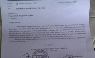 Sopir-Sopir Angkot se Kota Manado Bakal Demo Selama 4 Hari