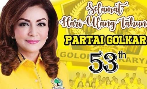 TETTY PARUNTU: Digahayu ke-53 Partai GOLKAR