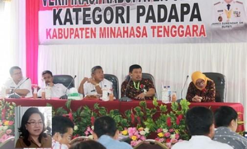 RINNY TAMUNTUAN Optimis Mitra Raih Predikat Kabupaten Sehat