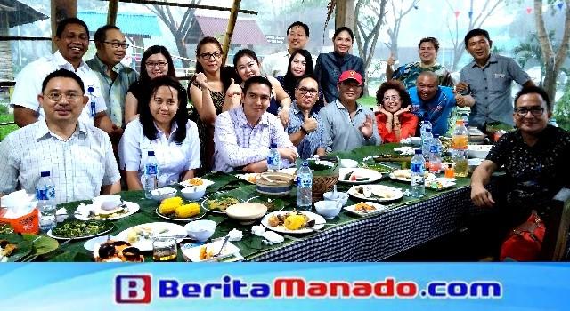 Kebersamaan ASITA dan Satgas Pariwisata Sulut di Kampoeng Minahasa