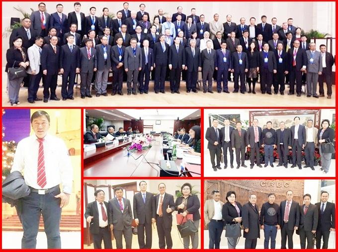 James Sumendap salah satu delegasi Indonesia saat pertemuan tingkat tinggi Indonesia dan China di Beijing