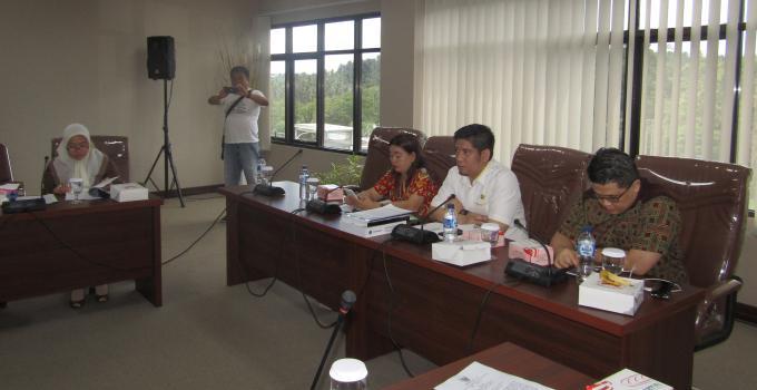 Pimpinan Pansus: Raski Mokodompit, Billy Lombok dan Jeanny Mumek