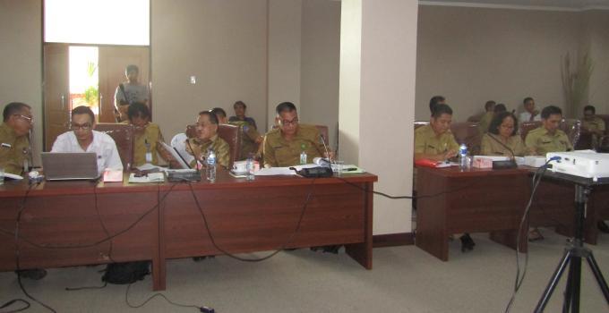 Jajaran Dinas Kehutanan dan pejabat terkait