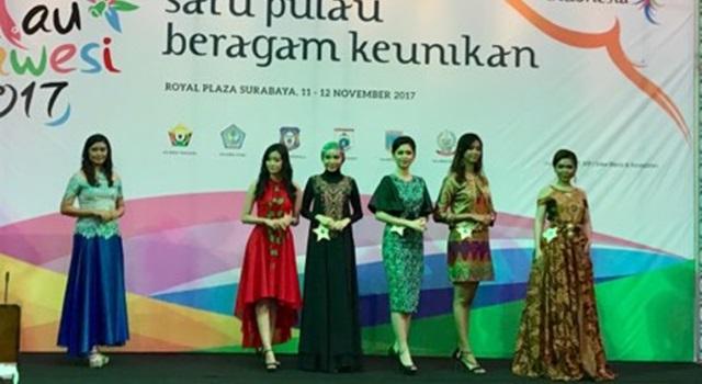 Pelaksanaan Pemilihan Puteri Kemilau Sulawesi 2017 di Surabaya