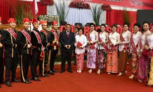 RIBKA MANDAGI Diutus Ikuti Pemilihan Puteri Kemilau Sulawesi 2017