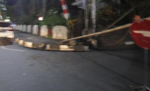 Masyarakat Bertanya kepada Walikota VICKY LUMENTUT Kenapa Akses Penghubung Boulevard-Ahmad Yani Ini Sering Ditutup?