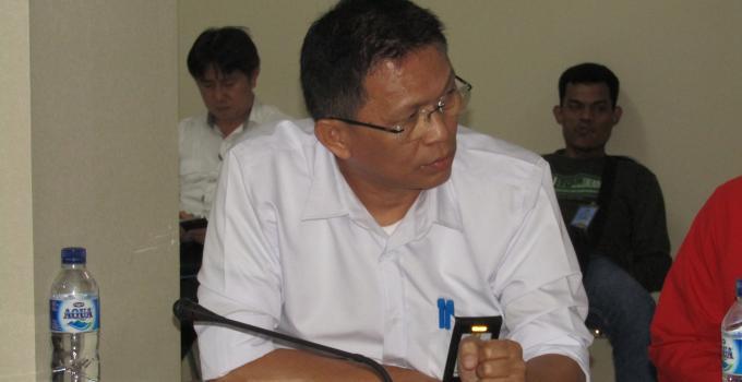 Christ Umboh, pejabat BPJN yang hadir di rapat bersama Komisi 3 DPRD Sulut