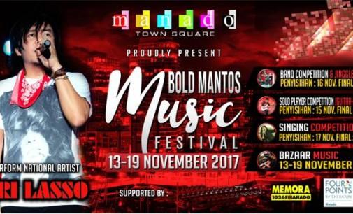 Bold Mantos Music Festival Masih Berlangsung, Ini Jadwalnya