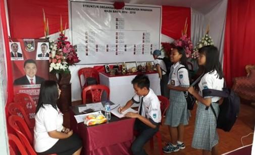 Stand Sekretariat DPRD Minahasa Jadi Sarana Edukasi