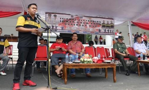 CLAY DONDOKAMBEY Optimis Drum Band Sulut akan Semakin Berprestasi