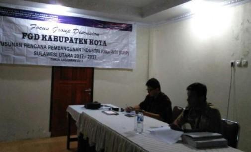 FGD RPIP Sulawesi Utara, Industri Pala Masuk Usulan Pengembangan di Kabupaten Sitaro