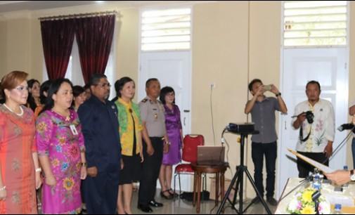 Dilantik Wali Kota Tomohon, Syerly Sompotan Pimpin GT-PPTPPO