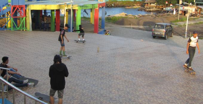 Godbless Park dilengkapi berbagai sarana olahraga