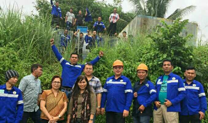 Pengabdian masyarakat mahasiswa jurusan teknik mesin Politeknik Negeri Manado