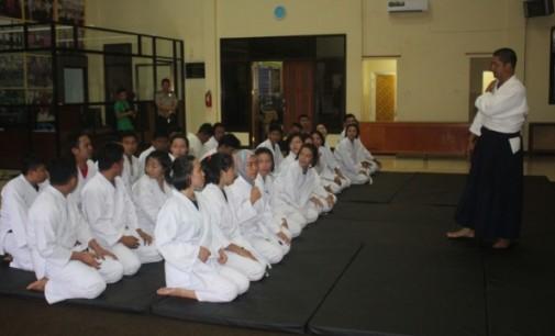 Diharapkan Dapat Melindungi Masyarakat, Kapolres ARYA PERDANA Galakkan Seni Bela Diri Aikido
