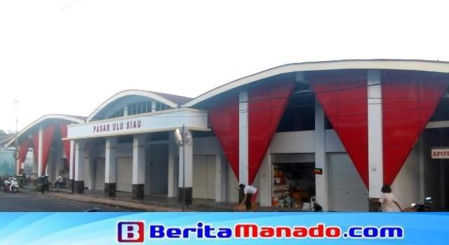 Bangunan kios Pasar Ulu.