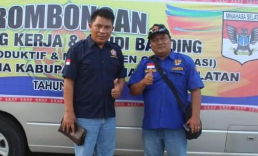 2 Kandidat Saingi Franky Pasla Calon Ketua Karang Taruna Minsel