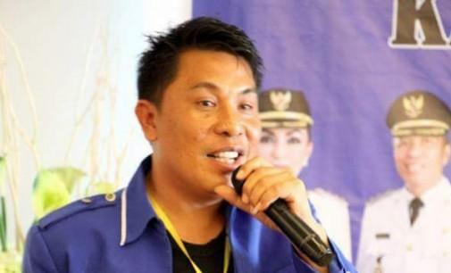 Tak Terbendung !!! Franky Pasla Kembali Pimpin Karang Taruna Minsel