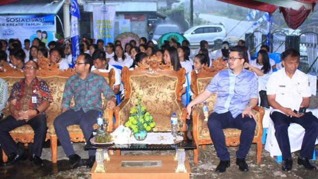 BKKBN dan DPR RI Komisi IX Sosialisasi KB di Kecamatan Maesaan