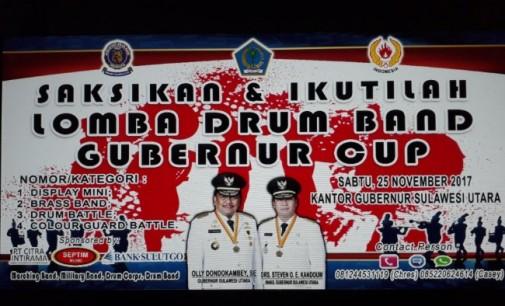Menuju PON, PDBI Gelar Lomba Drum Band Piala Gubernur Sulut