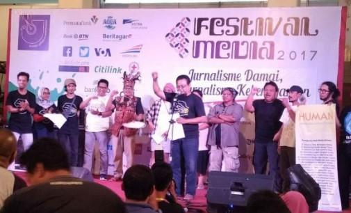 Human Dideklarasikan di Festival Media 2017