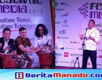 Menteri RUDIANTARA Hadiri Pembukaan Festival Media 2017
