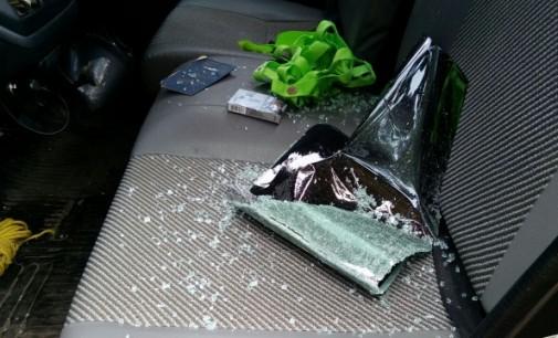 Rusak Mobil, Tersangka F Diamankan Tim URC Polsek Tenga