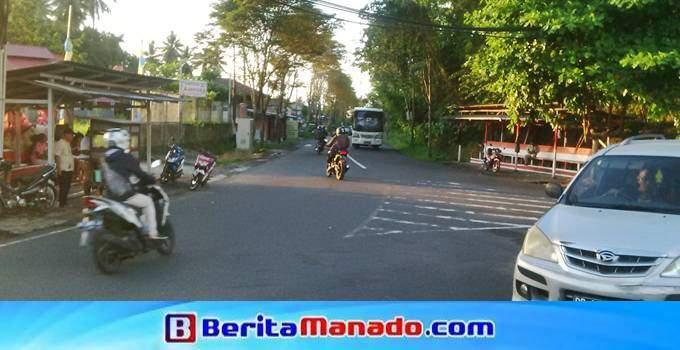 Jalan Adipura Raya, Mapanget, Kota Manado menuju perumahan Griya Paniki Indah