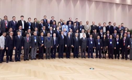 Bupati JAMES SUMENDAP Hadiri Pertemuan Tingkat Tinggi Indonesia-China di Beijing