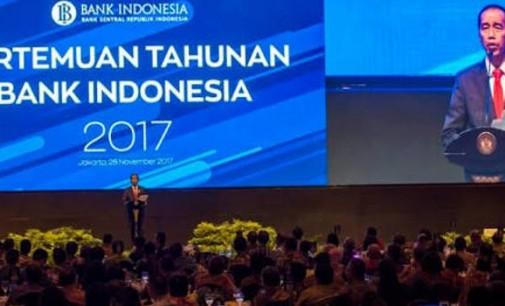 Dibuka Presiden JOKO WIDODO, Gubernur OLLY DONDOKAMBEY Hadiri Pertemuan Tahunan Bank Indonesia