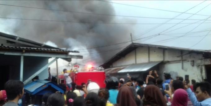 Kebakaran Pasar Cita Kota Bitung