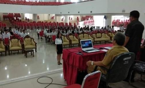 Wawali Bekali Mahasiswa KKT Unsrat Sebelum Ditempatkan di Bitung