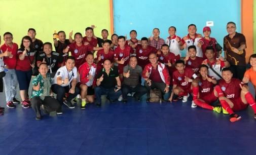 Pornas KORPRI, Berhasil Kalahkan Riau, Futsal Sulut Lolos 16 Besar