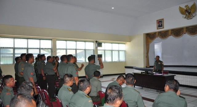 Persiapan pelepasan 44 anggota bertugas di Kodim 1312/Talaud